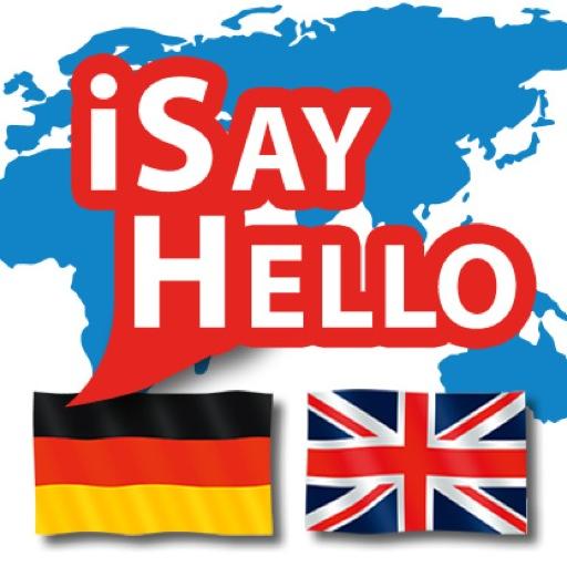 iSayHello ドイツ語 - 英語 旅遊 App LOGO-硬是要APP