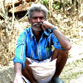Life by Nikesh Ponnen - People Portraits of Men