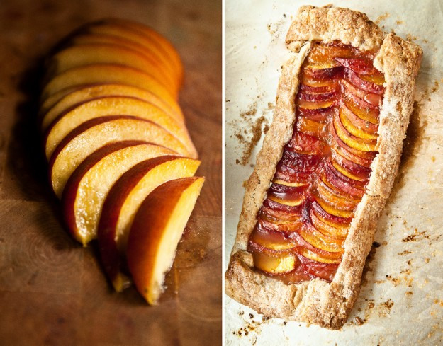Tequila and peach? A match made in booze-cooking heaven.