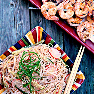 Cold Asian Rice Noodle Salad Recipes