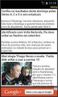 Screenshot of Fluminense app não oficial
