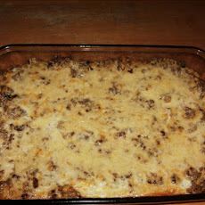 Crescent Crust Sausage Brunch Casserole