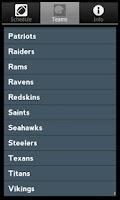 Screenshot of Pro Football Radio