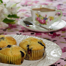 Maple Syrup Blueberry Muffins