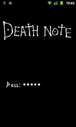 death-note for android screenshot