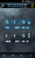 Screenshot of UTC-GMT-ZULU Time