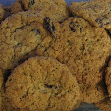 Raisin Crunch Cookies
