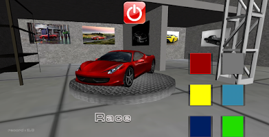 Screenshot of Car Racing Free