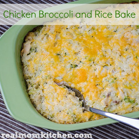 Chicken Broccoli and Rice Bake