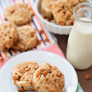 Baby Brown Sugar Butterscotch Scones