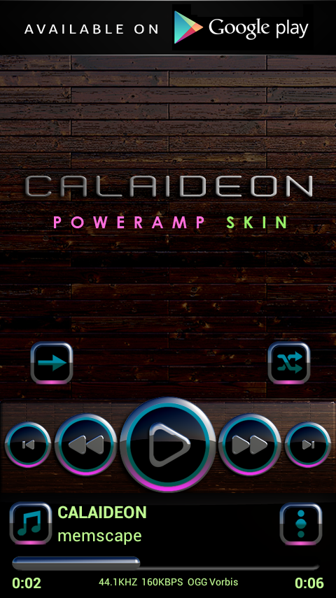 CALAIDEON Next Launcher Theme Screenshot 7