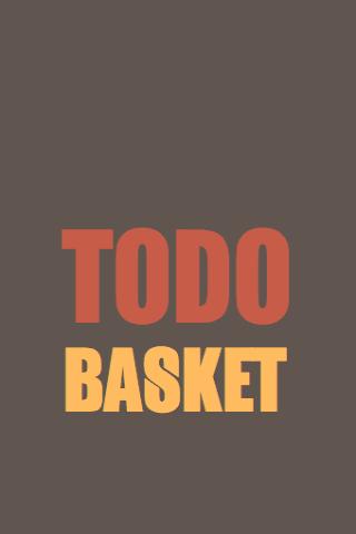 TodoBasket