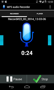 MP3 VOICE RECORD HIGH QUALITY - screenshot