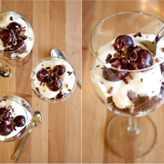 Black Forest Brownie Trifles