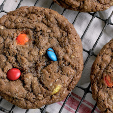 Chocolate M&M Cookies Recipe
