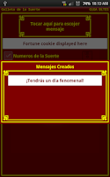 Screenshot of Galleta de la Suerte