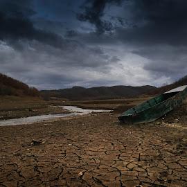 no water , no water transportation by Kron Krasniqi - Transportation Boats (  )