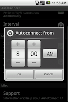 Screenshot of AutoConnect Free