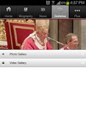 Screenshot of LB PAPAL Visit