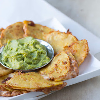 Mini Bean and Cheese Fried Quesadillas