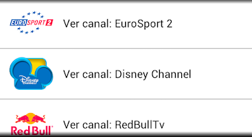 Screenshot of TV Directo Online (España)