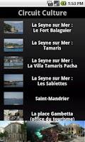 Screenshot of Toulon MyMoov