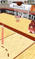Screenshot of Basketball Shots 3D (2010)