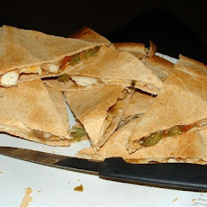 Moo Shu Chicken Quesadillas  -  Ww 4 Points