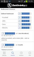 Screenshot of ZlatéStránky.cz- zlaté stránky