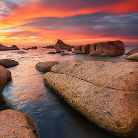Gorgeous Sunset by Sonni Suryatmojo - Landscapes Beaches