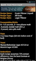 Screenshot of Beer DB Free - Recipe Vault