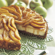 Apple-Almond Cheesecake