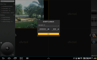 Screenshot of DVTEL Mobile