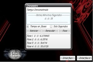 Screenshot of CronoTiempo Stopwatch