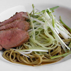 Japanese Noodle and Cucumber Salad