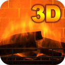 3D Fireplace mobile app icon