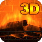 3D Fireplace icon
