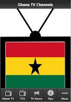 Screenshot of Ghana TV Channels
