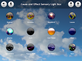 Screenshot of Cause & Effect  Light Box