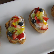 Fresh Fruit Bruschetta