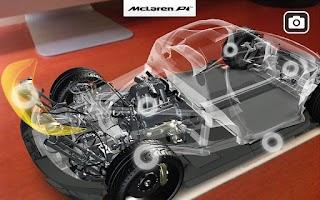 Screenshot of McLaren P1