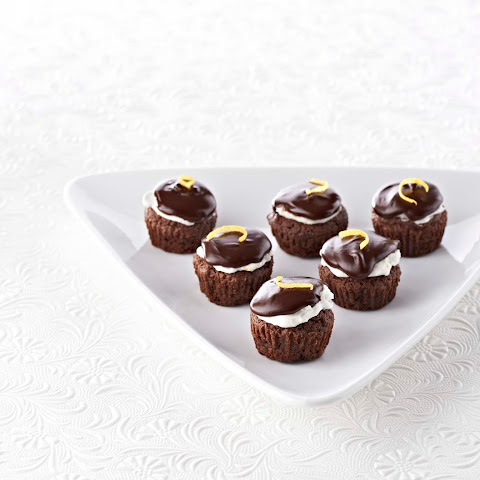 Lemon Kissed Brownie Bites