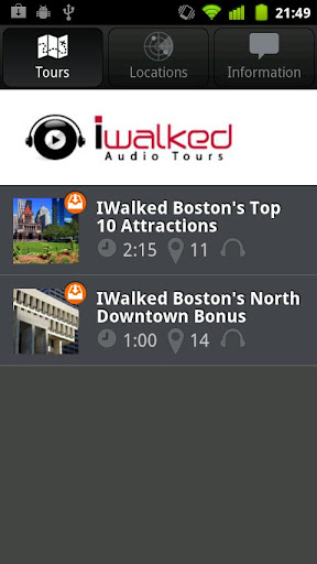IWalked Boston's Top 10 Attrac