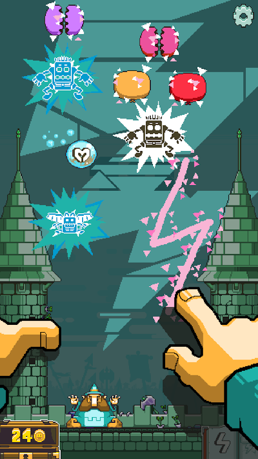 Magic Touch: Wizard for Hire Screenshot 2
