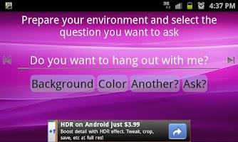 Screenshot of Get a date