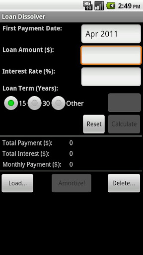 Loan Dissolver