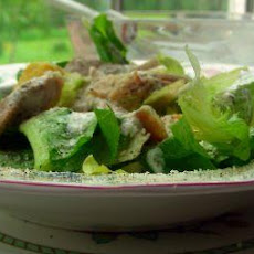 Buttermilk Chicken Caesar Salad