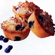 Individual Blueberry-Coconut Pound Cakes