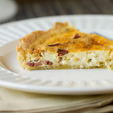 Bacon and Cheese Quiche Tart