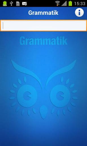 Din Grammatik